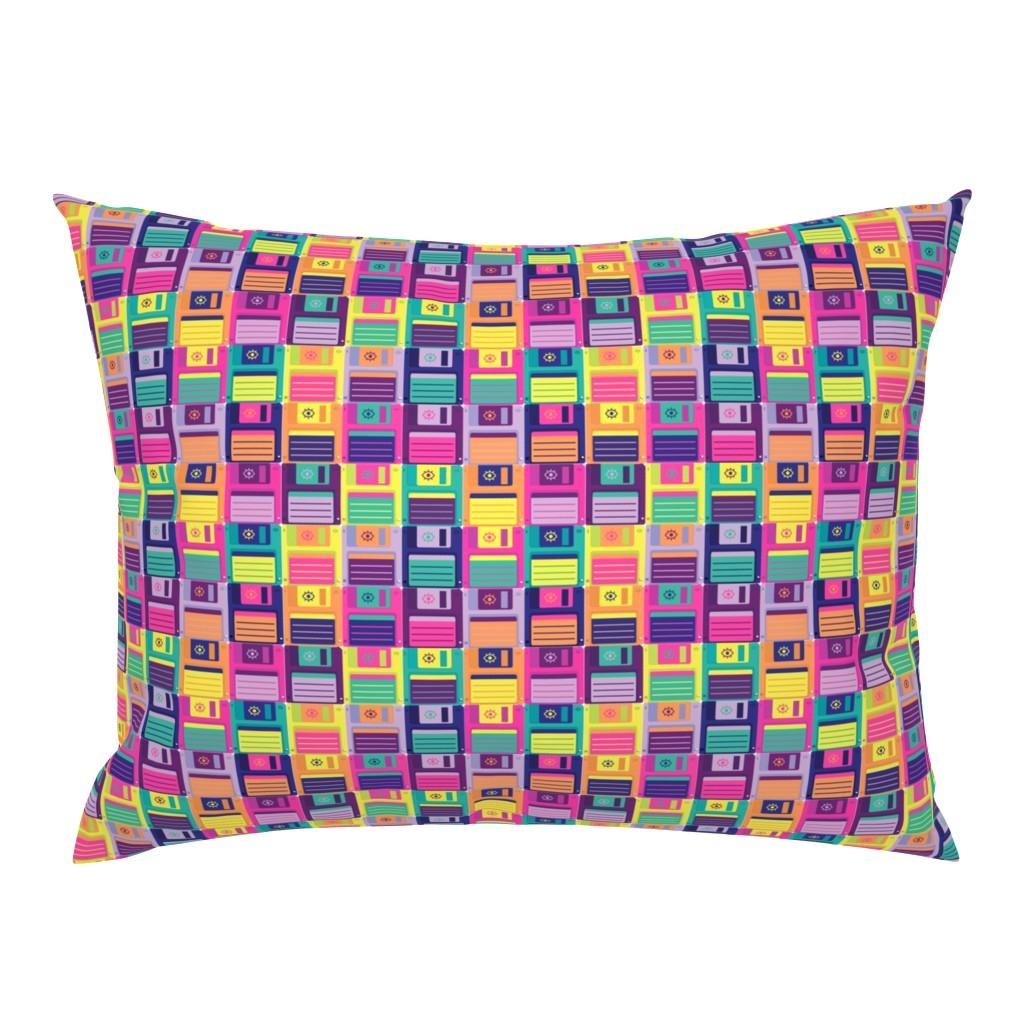 Campine Pillow Sham featuring Eye Miss Retro Storage by miranema