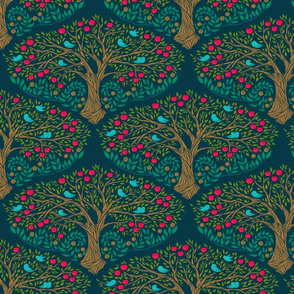 Apple Tree {Ruby Red} - medium scale