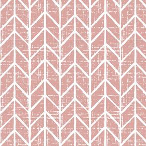 blush chevron geometric