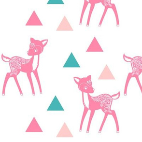 Triangles and Deer