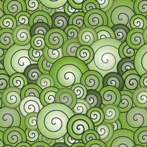greengradientspirals