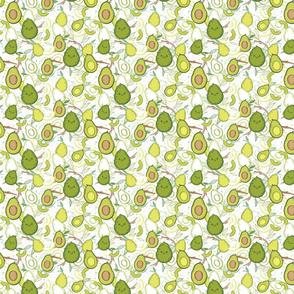 Happy Avocados - Small Print