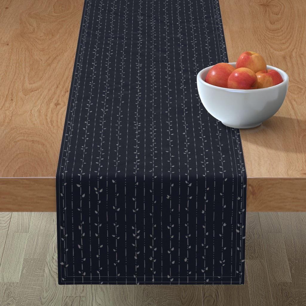Minorca Table Runner featuring Dainty Vines by karina_love