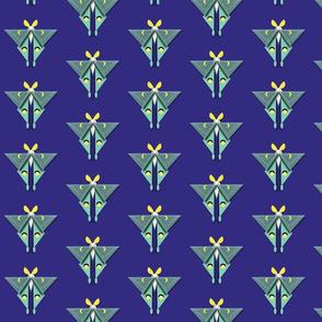geometric moth half drop