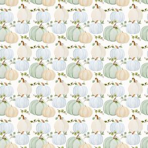 FALL Pumpkins seamless smaller repeat