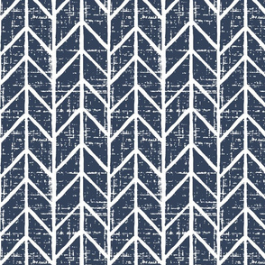 navy blue chevron