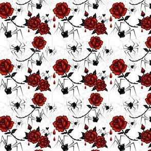 Small-Black Widows and Roses