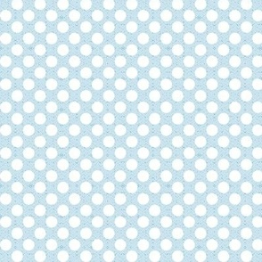 polka dots light blue small