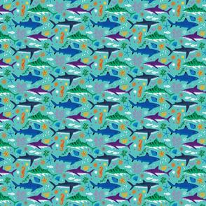 Sharks & seahorses