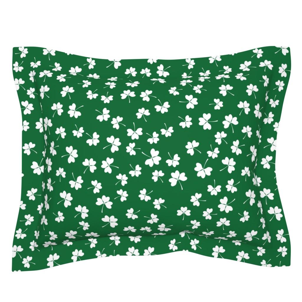 Sebright Pillow Sham featuring Patrick seamless pattern by tashakon