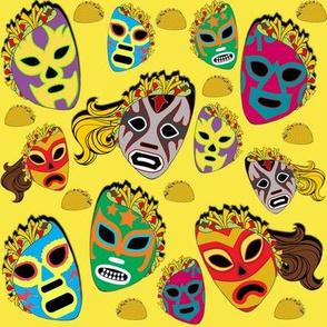 Taco Libre on Yellow