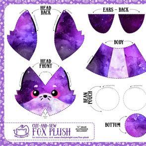 Cut & Sew Fox Plush Galaxy