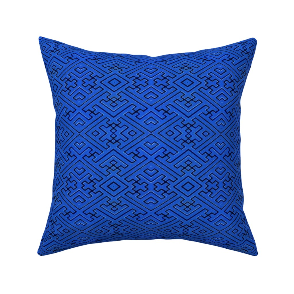 Catalan Throw Pillow featuring japonaise 101 by hypersphere