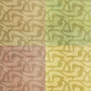 "Wavy Bark Pattern Bundle 54"""