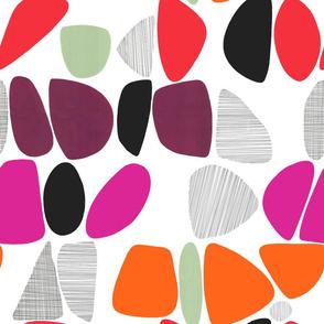 1950s Pebbles (reds)