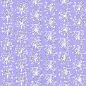 Light mauve dotty flower