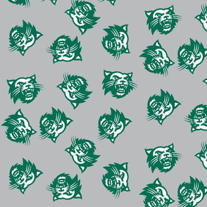 Go Cats Green