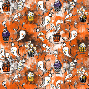 Ghoulish Treats in Orange - © Lucinda Wei
