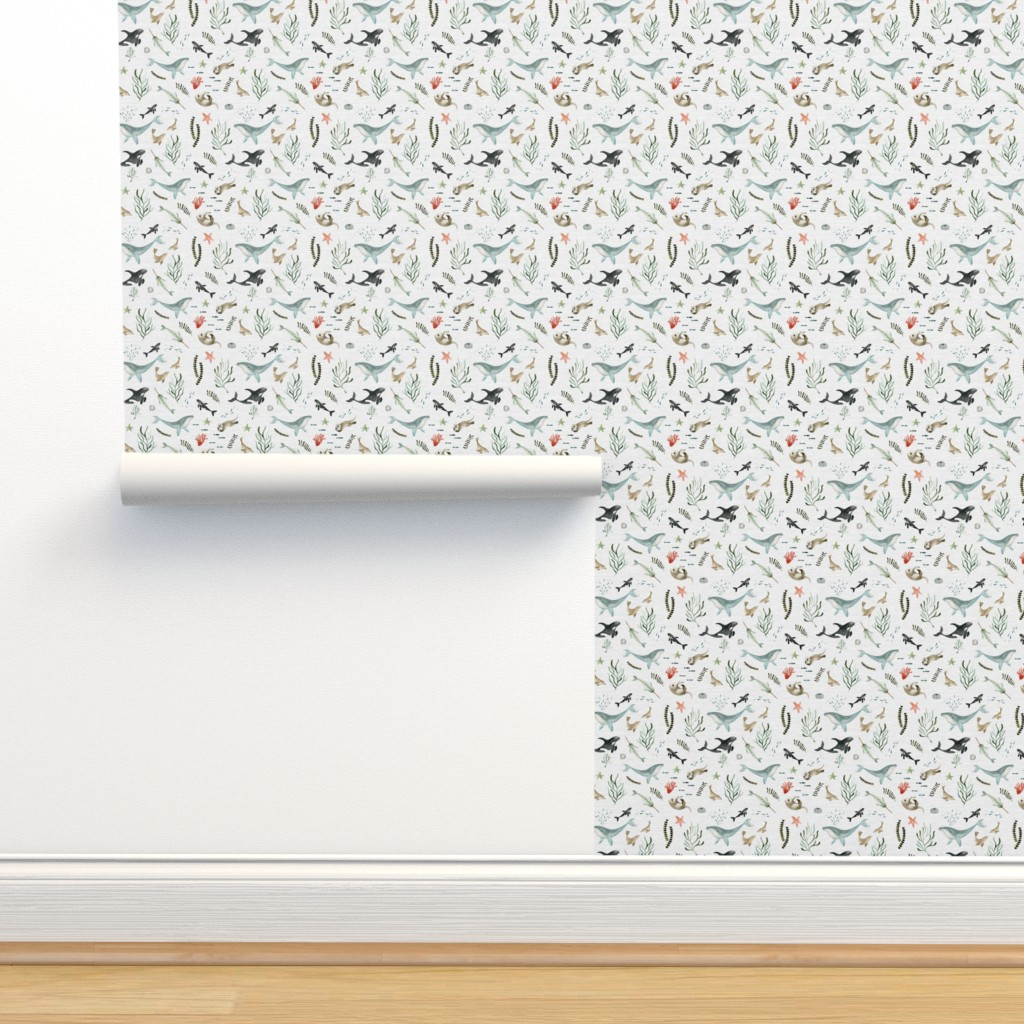 Isobar Durable Wallpaper featuring Pacific Ocean by little_pine_artistry