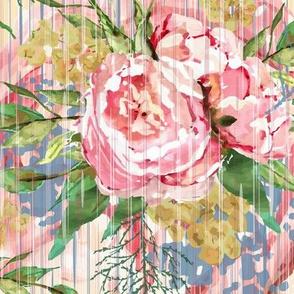 1920's Vintage Floral