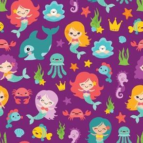 Mermaid Friends 18 Designs By Lisanorrisartworks