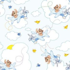 TeddyBearPlanes_BLUE