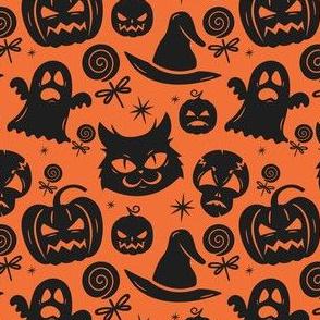 Black Cats And Midnight Halloween Magic