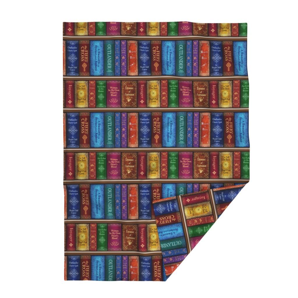 Lakenvelder Throw Blanket featuring Thru The Stones Bookshelf by sssowers