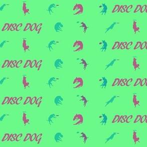 Disc Dog 1 Inch Mint Green