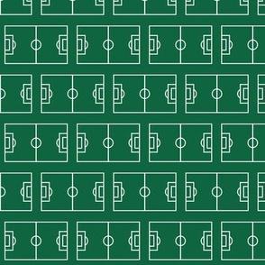 Soccer Field, Deep Green