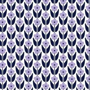 Climbing flowers purple