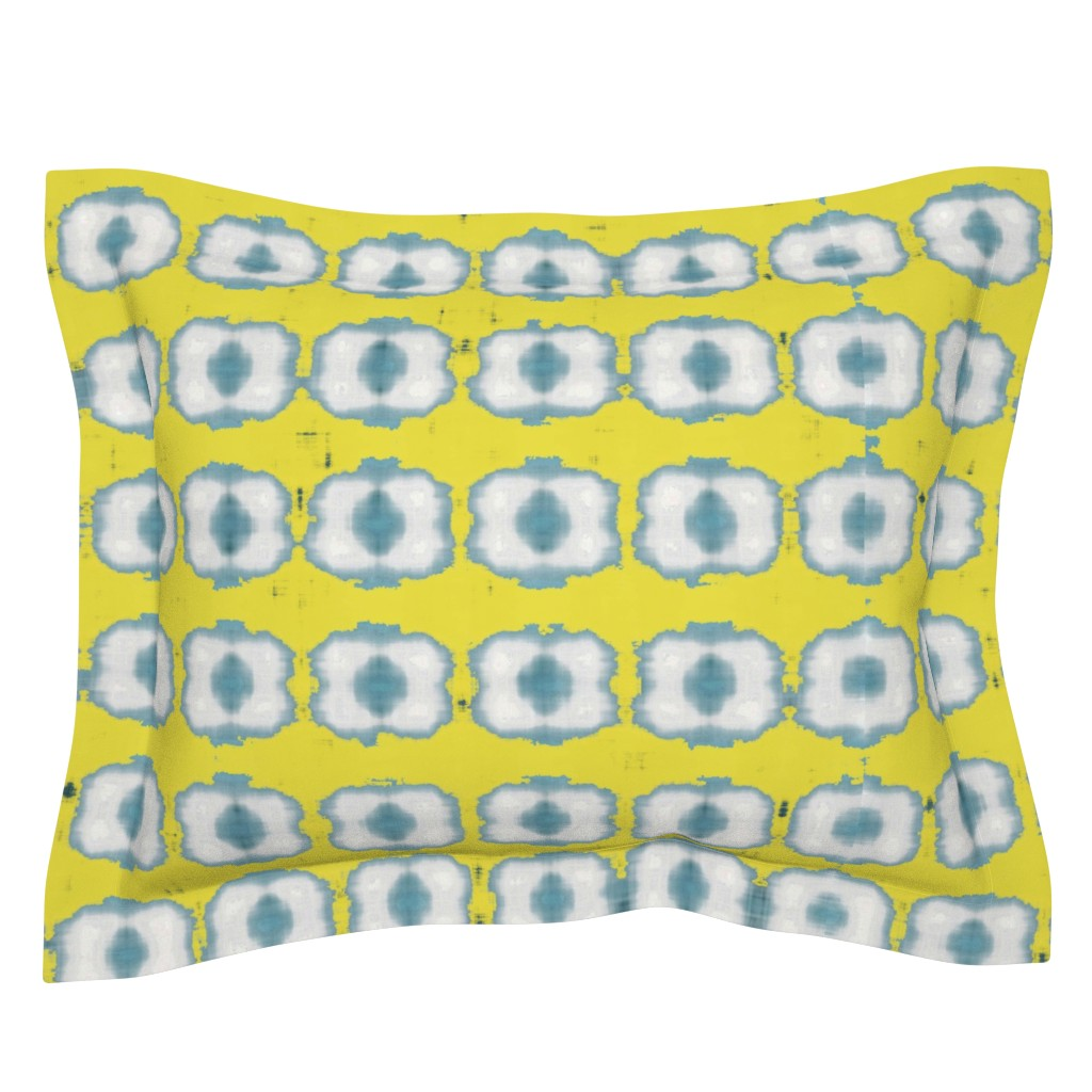 Sebright Pillow Sham featuring contemplaid21 by colortherapeutics