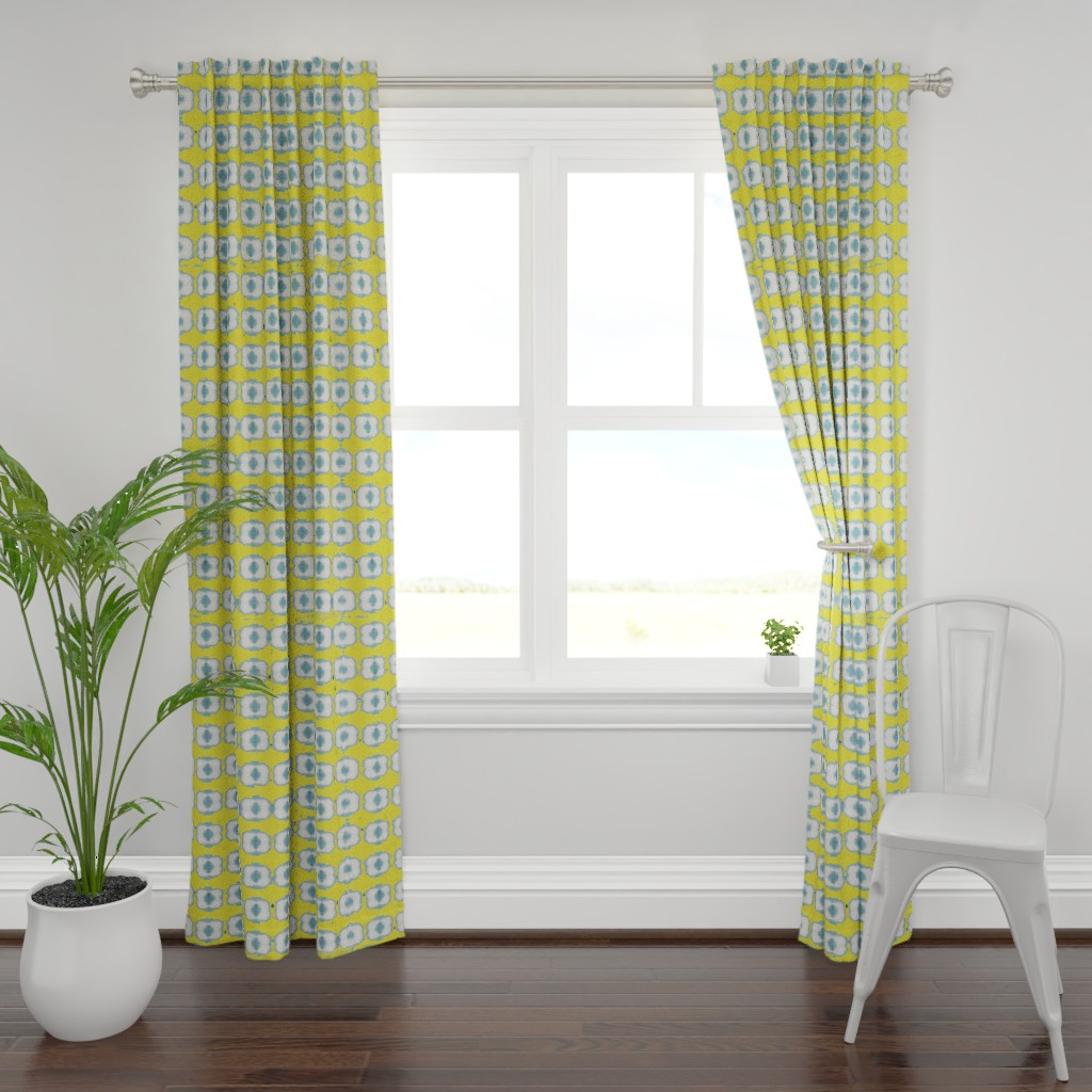 Plymouth Curtain Panel featuring contemplaid21 by colortherapeutics