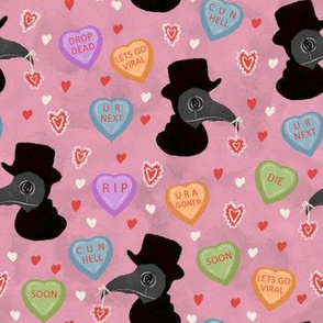Plague Doctor Valentine (small scale)