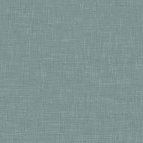 arctic teal linen