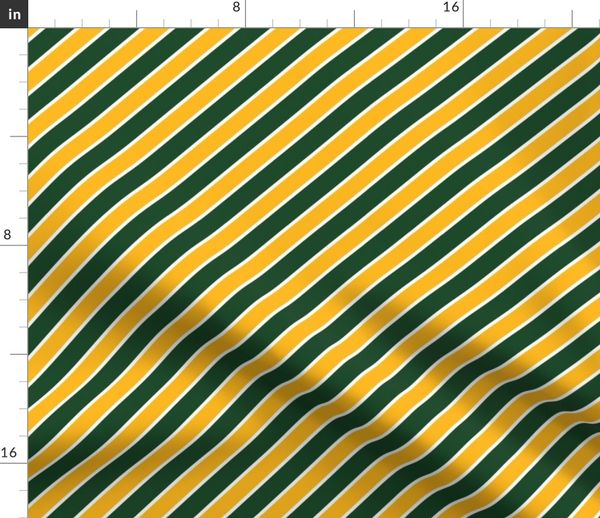 Green Bay Packers Team Colors Spoonflower