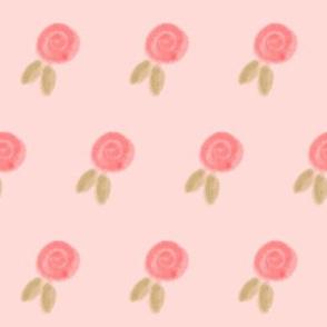 pink rosettes