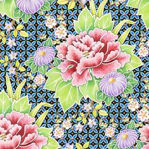 Kimono Bouquet Brocade
