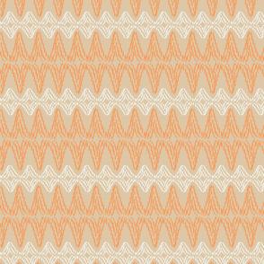 Decorative, diamond patterned stripe