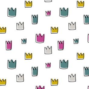 Crowns king queen princess crown