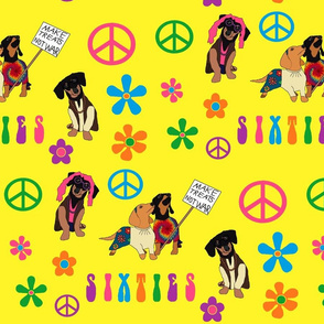 Peace Love and Dachshunds