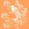 7863294-orange-koi-fish-by-hummingbird_studio