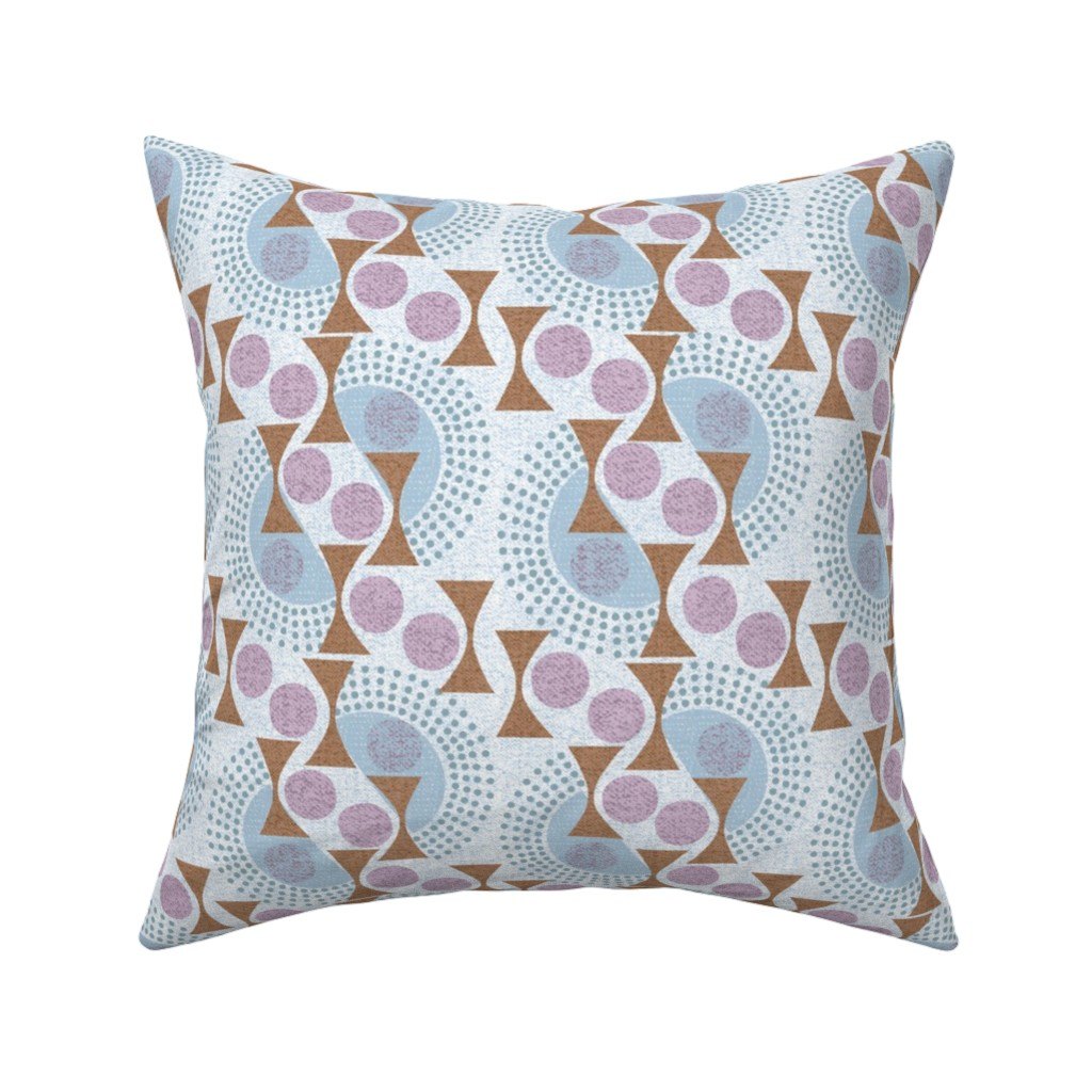 Catalan Throw Pillow featuring deco dots by ottomanbrim