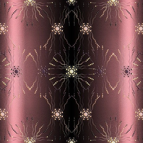 1920s pearl chic space rose-pink-black