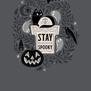 Stay Spooky Tea Towel