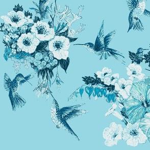 Teal & Tiffany Humming Bird