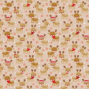 gingerbread reindeer - small