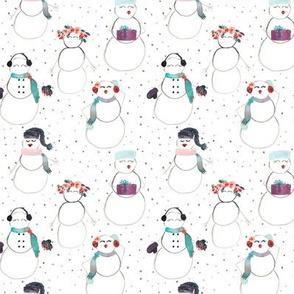 IBD Snow woman A