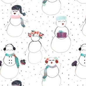 IBD Snow Woman B