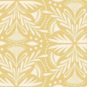 Lenox - Damask Buttercream Yellow